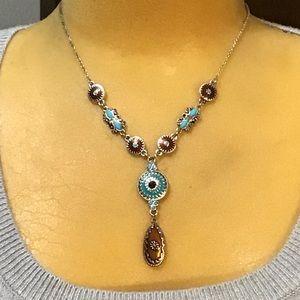 Adorable NRT boho style necklace